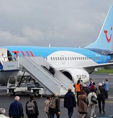 Aéroport de Rennes. Le voyagiste TUI lance sa nouvelle ligne vers Palerme