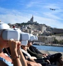 Drones touristiques: Marseille vue du ciel, sans quitter le sol