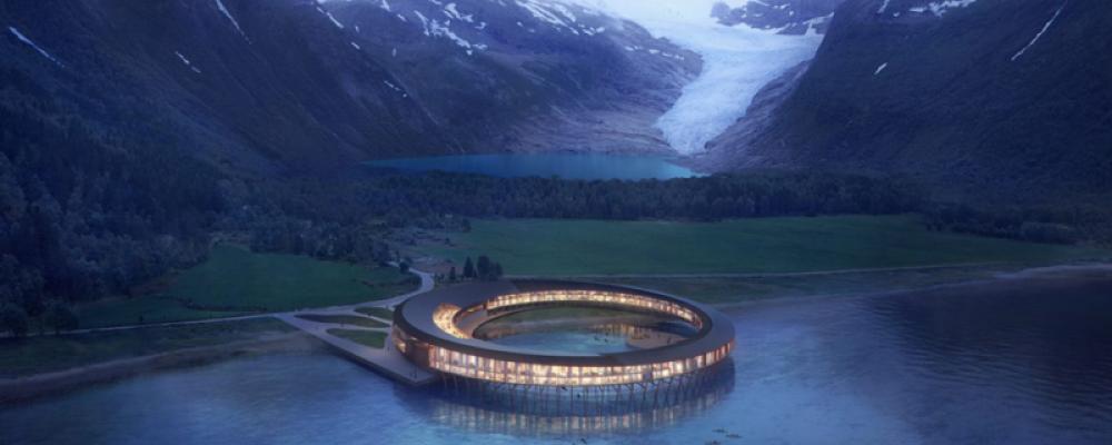 En Norvège, ce projet d'hôtel éco-responsable produit plus d'énergie qu'il n'en consomme