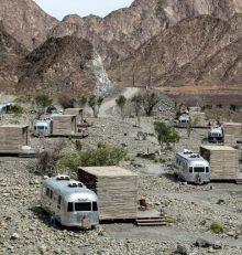 La nouvelle mode touristique à Dubaï: le «glamping», camping glamour