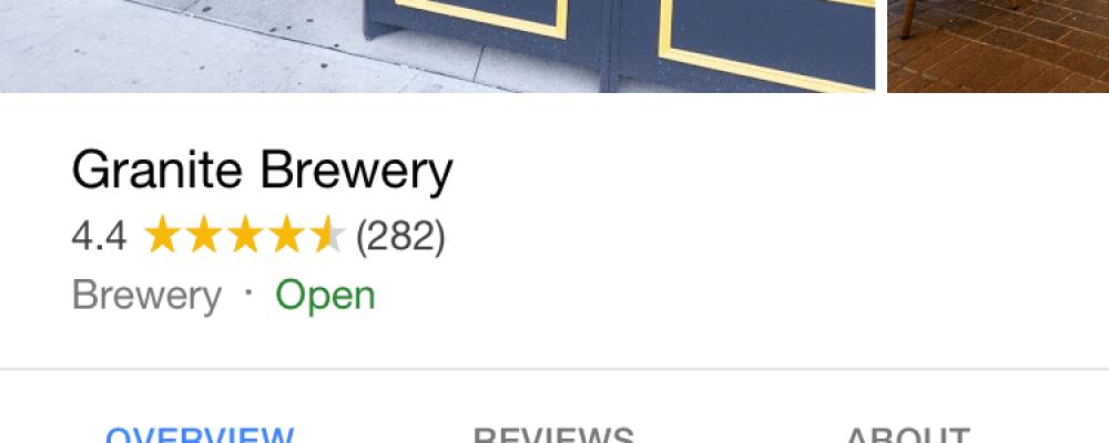 Google teste des boutons « réserver une table » et « les tables demain » dans les listes locales