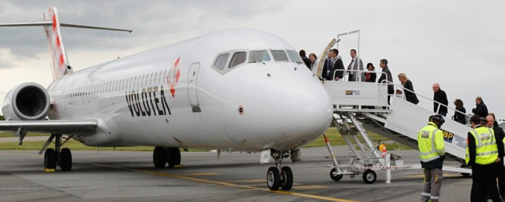 Nantes: Volotea devrait atteindre le million de passagers en 2018