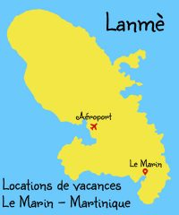 Lanmè : Locations de vacances au Marin en Martinique
