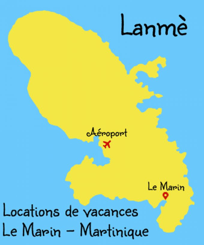 Lanmè : Locations de vacances au Marin en Martinique